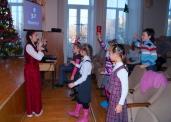 10.12.2014 Рождество для школьников. Играем и танцуем.