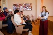12.12.2014 Рождество для старшего поколения. Беседа с гостями.