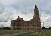 Лютеранский храм в селе Усть-Золиха Саратовской области. Фотопроект