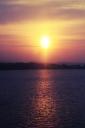Sonnenuntergang an der Wolga. Fotograf - Roman Tumanov