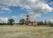 Лютеранская церковь в селе Привольное, Ровенский район Саратовской области. Фотопроект